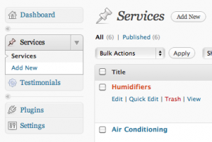 WordPress 3 Custom Post Types