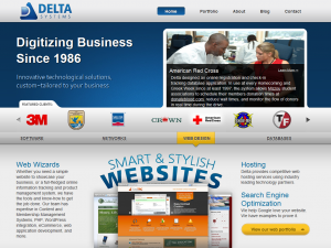 Delta Systems Group's New Website